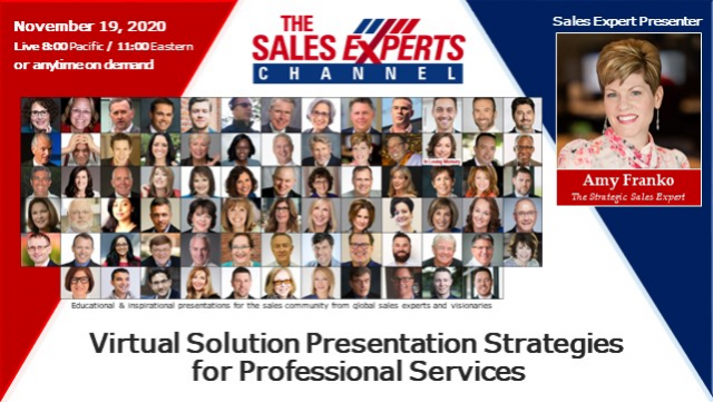 Virtual Solution Presentation Strategies for Professional Services