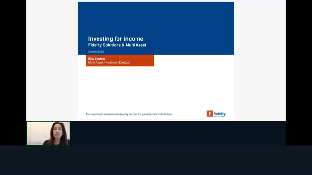 Defaqto CPD - Investing for Income by Fidelity