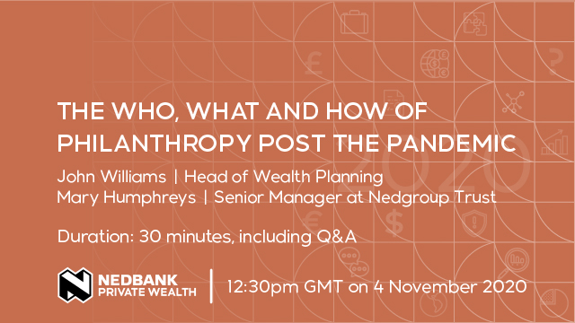 The who, what and how of philanthropy post the pandemic