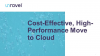 Cost-Effective, High-Performance Move to Cloud