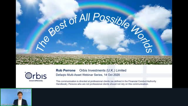 Defaqto CPD - The best of all possible worlds by Orbis Investments