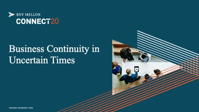 Business Continuity in Uncertain Times