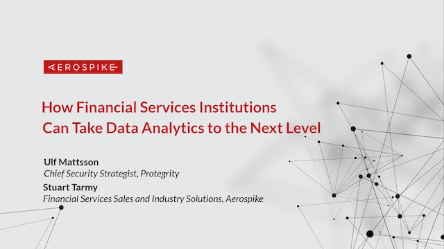 How Financial Services Institutions Can Take Data Analytics to the Next Level