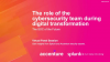 The SOC of the Future: The role of cybersecurity during digital transformation