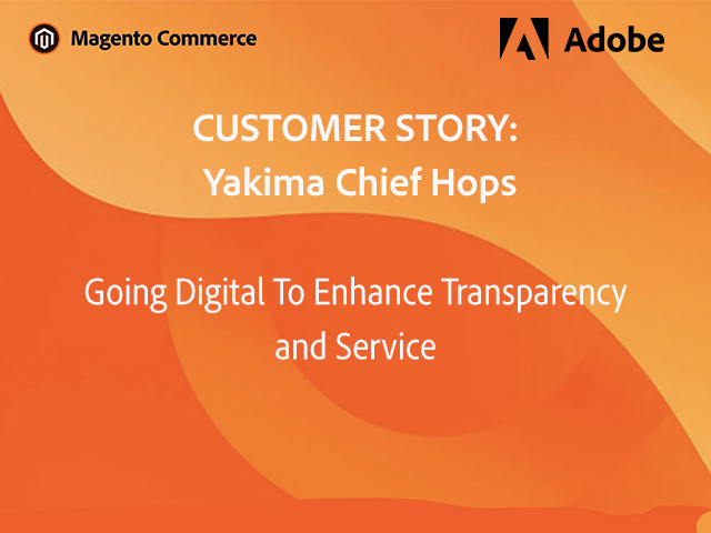 Yakima Chief Hops Goes Digital to Enhance Customer Experience