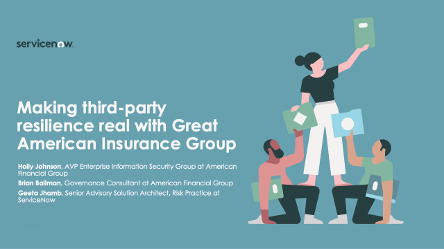 Making third-party resilience real with Great American Insurance Group