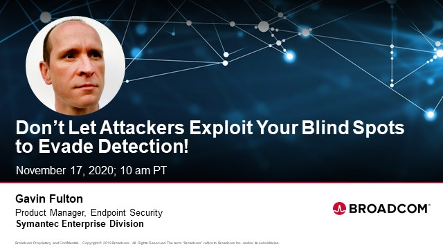 Don't Let Attackers Exploit Your Blind Spots to Evade Detection
