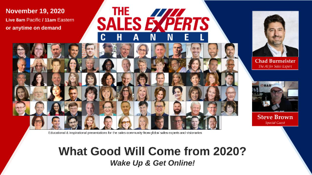 What Good Will Come From 2020? Wake Up & Get Online!
