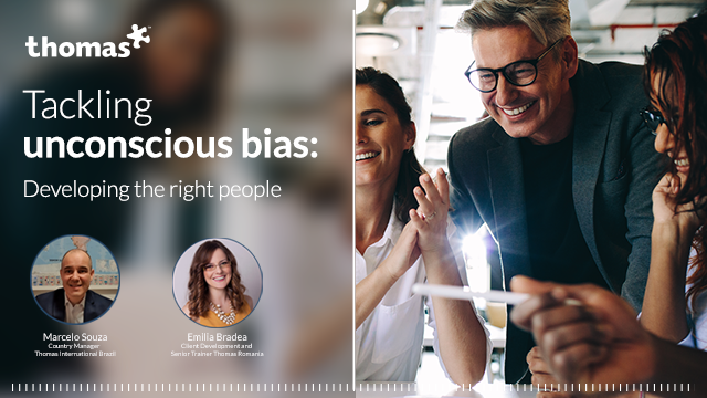 Tackling unconscious bias: Developing the right people