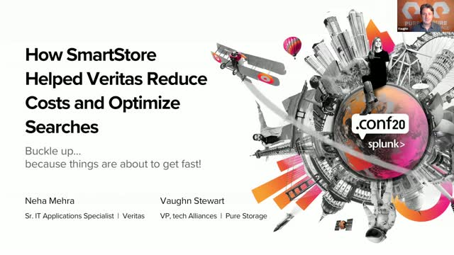 How Splunk SmartStore has Helped Veritas Reduce Costs and Optimize Searches