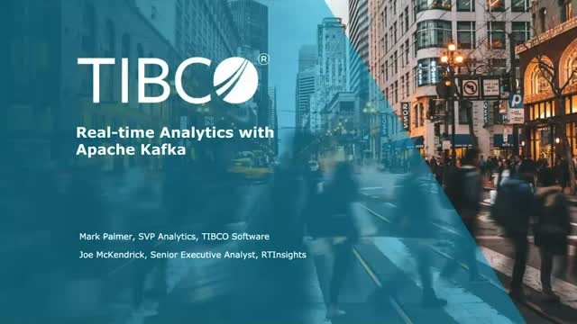 Real-time Analytics with Apache Kafka