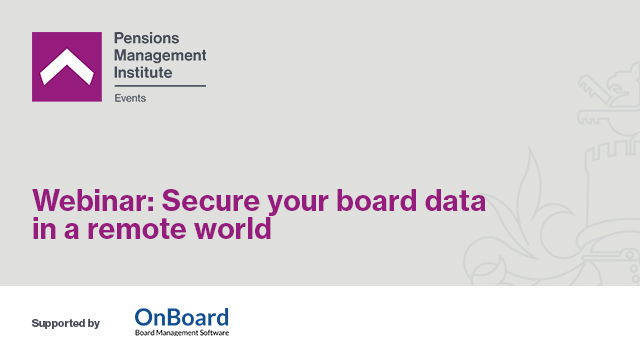 Secure Your Board Data in a Remote World