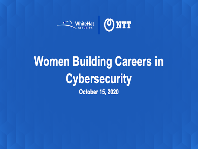 Women Building Careers in Cybersecurity