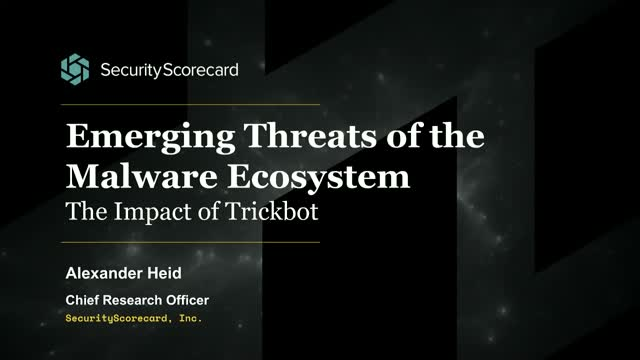 The Impact of Trickbot and How It Affects State Infrastructure