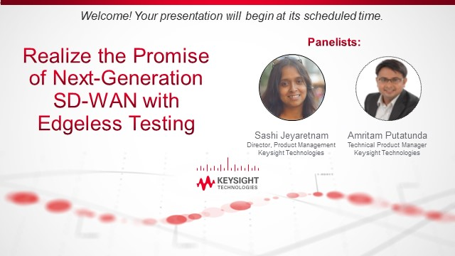 Realise the Promise of Next Generation SD-WAN with Edgeless Testing
