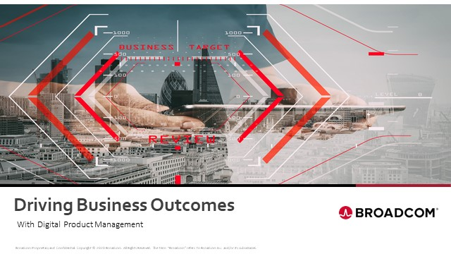 Driving Business Outcomes with Digital Product Management
