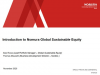 Establishing Credibility & Accountability in a Global Sustainable Equity Fund