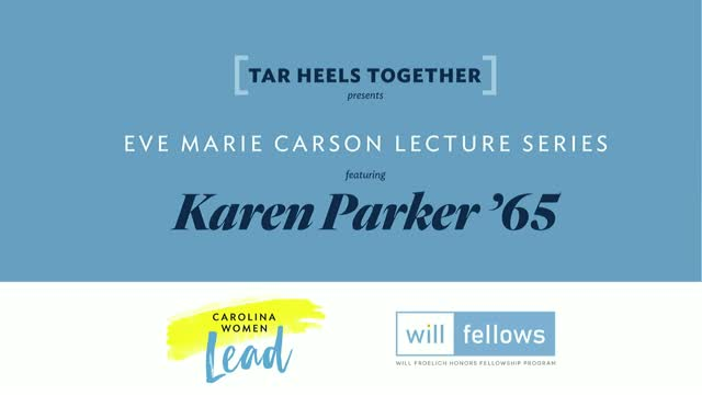 2020 Eve Marie Carson Lecture Series