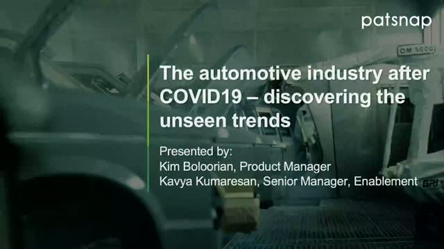 The automotive industry after COVID-19