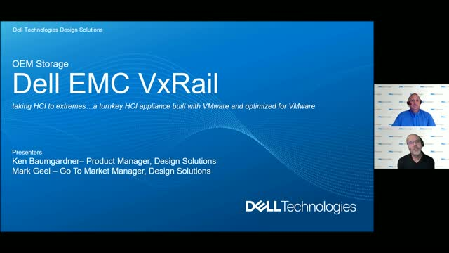 The Dell EMC VxRail is a great fit for OEM customers at the extreme edge