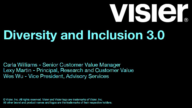 Diversity and Inclusion 3.0