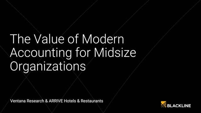 The Value of Modern Accounting for Midsize Organizations