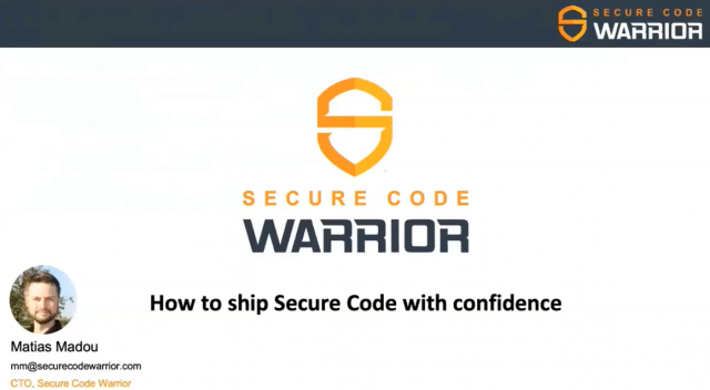 How To Ship Secure Code With Confidence