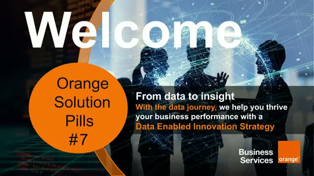Orange Solution Pill #7 - Data Enabled Innovation Strategy
