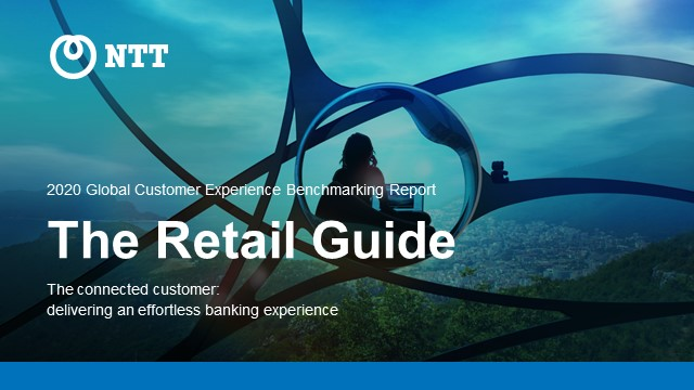 NTT's Retail Guide to the 2020 Customer Experience Benchmarking Report