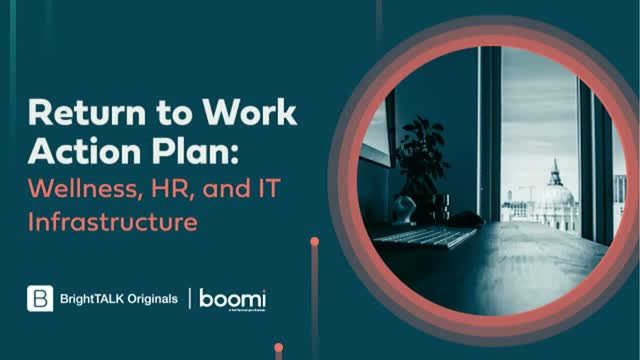 Return to Work Action Plan: Wellness, HR, and IT Infrastructure