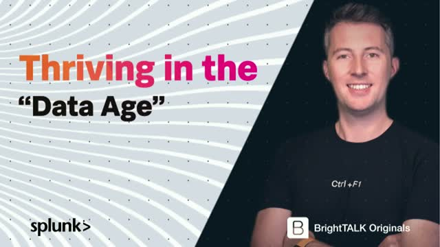 Data Age Series Ep3 - Thriving in the Data Age