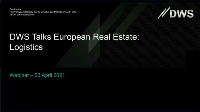 EMEA APAC European Real Estate Update - Logistics