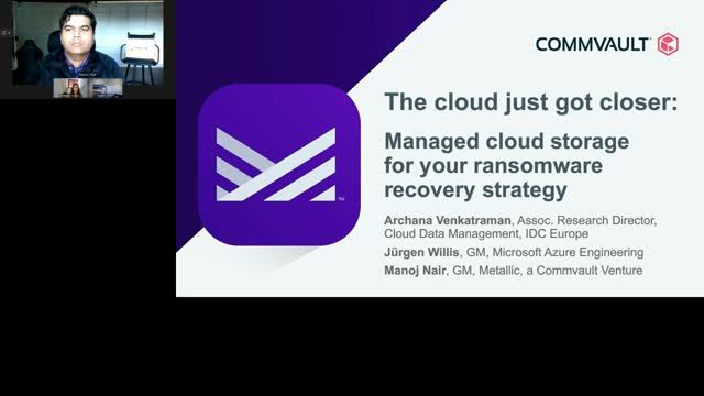 The Cloud just got Closer: Managed Cloud Storage for your Ransomware Recovery St