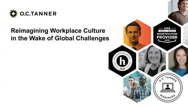 Reimagining Workplace Culture in the Wake of Global Challenges