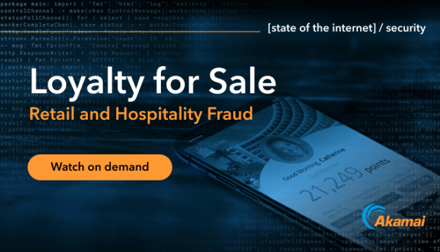 State of the Internet / Security: Loyalty for Sale - Retail & Hospitality Fraud