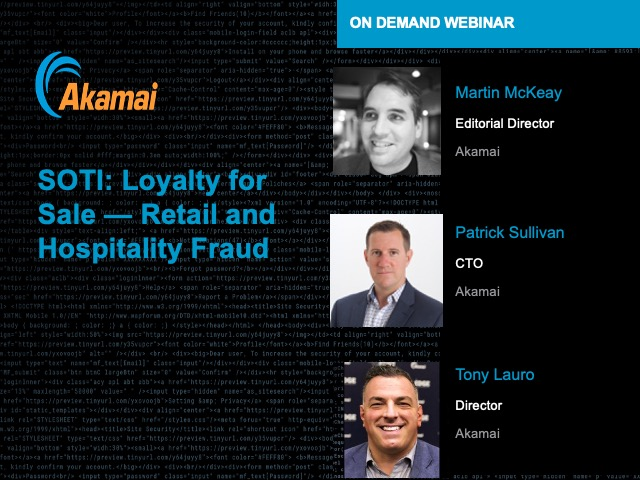 SOTI: Loyalty for Sale — Retail and Hospitality Fraud