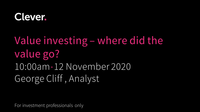 Value investing - where did the value go?