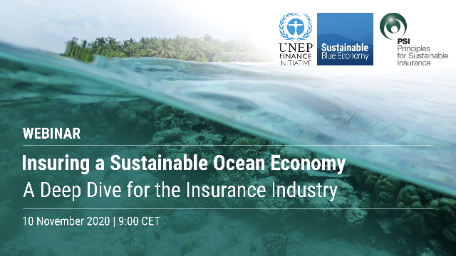 Insuring a Sustainable Ocean Economy: A Deep Dive for the Insurance Industry