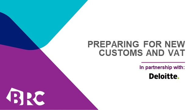 Preparing for new customs and VAT arrangements from 1 January