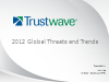 2012 Global Threats and Trends