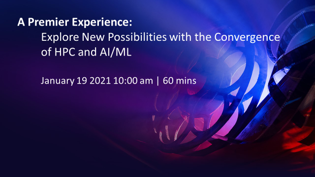 Explore New Possibilities with the Convergence of HPC and AI/ML