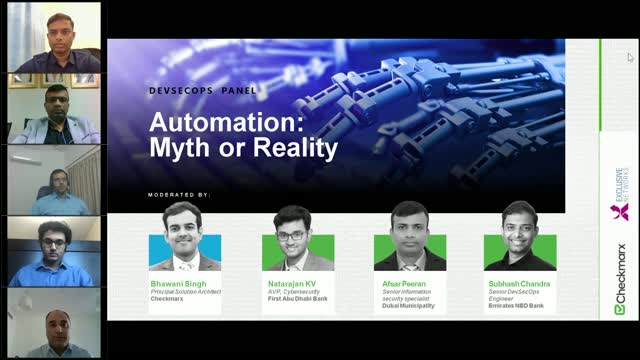 [Panel] Automation: Hype or Realty - DevSecOps in Middle East