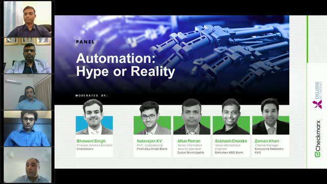 Automation: Hype or Reality - DevSecOps Panel in the Middle East