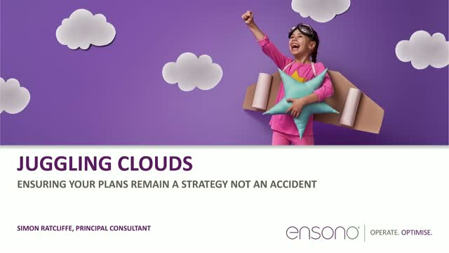Juggling Clouds - Ensuring your Plans Remain a Strategy, Not An Accident