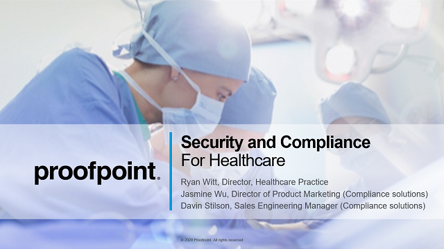Live Demo: Utilize Archiving Solutions & Mitigate Compliance Risk for Healthcare