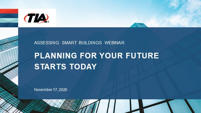 Assessing Smart Buildings – Planning Your Future Starts Today