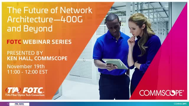 The Future of Network Architecture – 400G and Beyond
