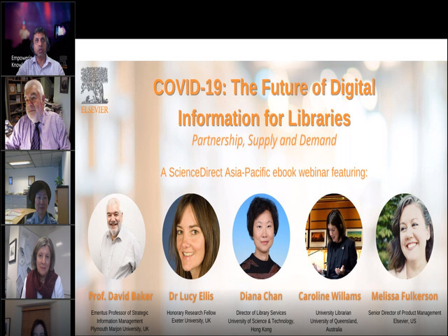 COVID-19: The Future of Digital Information for Libraries - Partnership, Supply