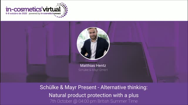 Schülke & Mayr Present - Natural product protection with a plus