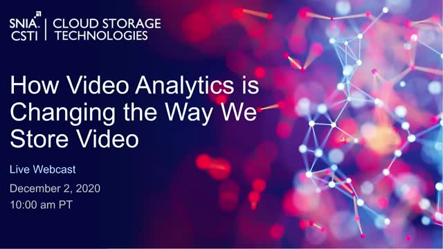 How Video Analytics is Changing the Way We Store Video